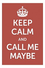 Панно (20x30 см) Call me maybe TM-113-184